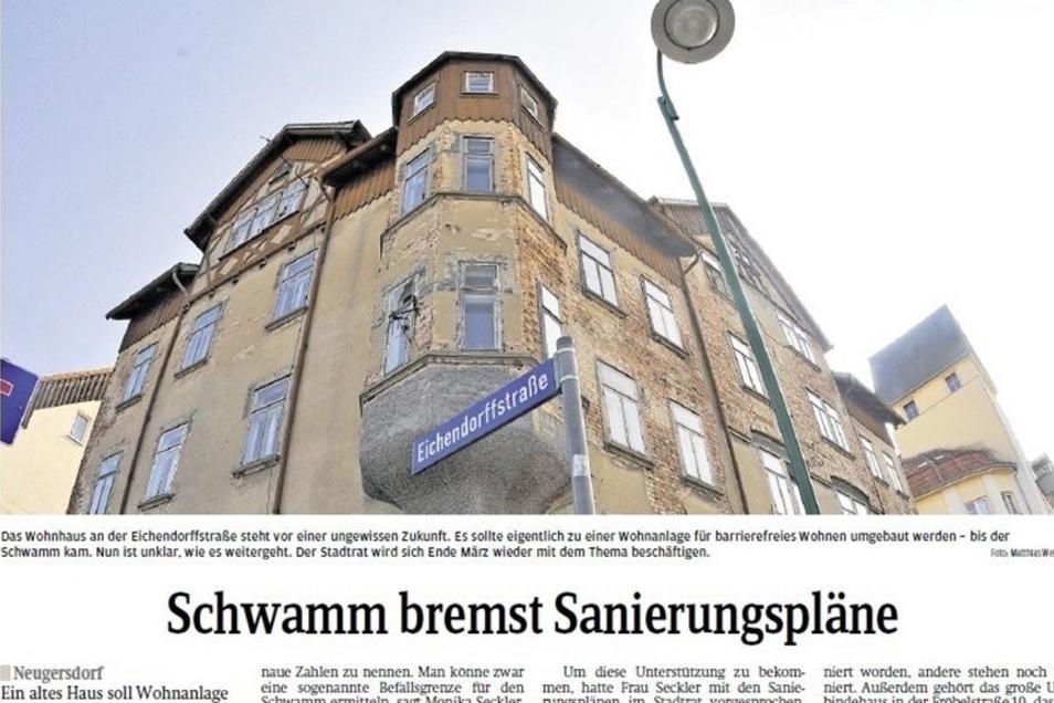 So berichtete die SZ vor knapp zwei Jahren über das Gebäude. Damals war es marode, ob es mit der Sanierung klappt, stand noch nicht fest.
