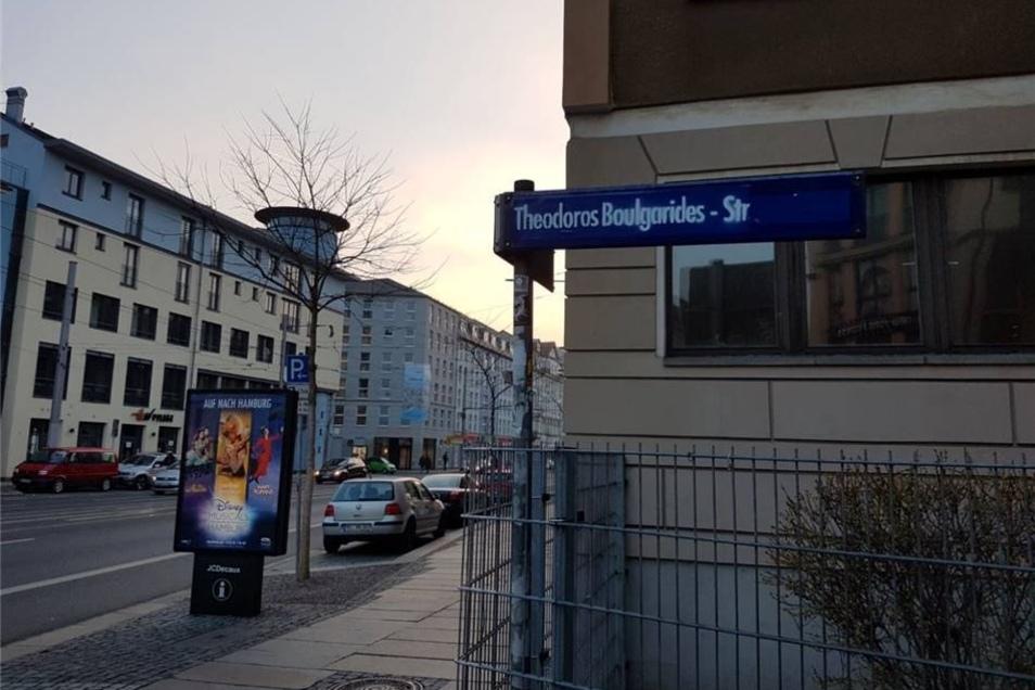 Die Martin-Luther-Straße trägt nun den Namen Theodoros Boulgarides.