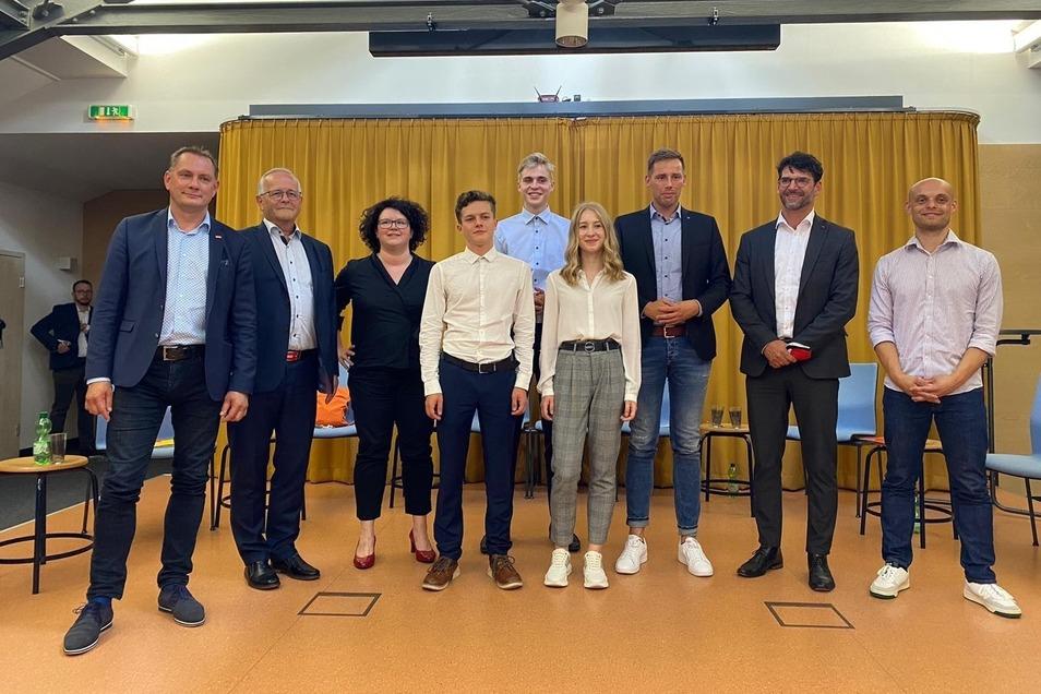 Diese sechs Bundestagskandidaten stellten sich den Fragen von Löbauer Schülern.
