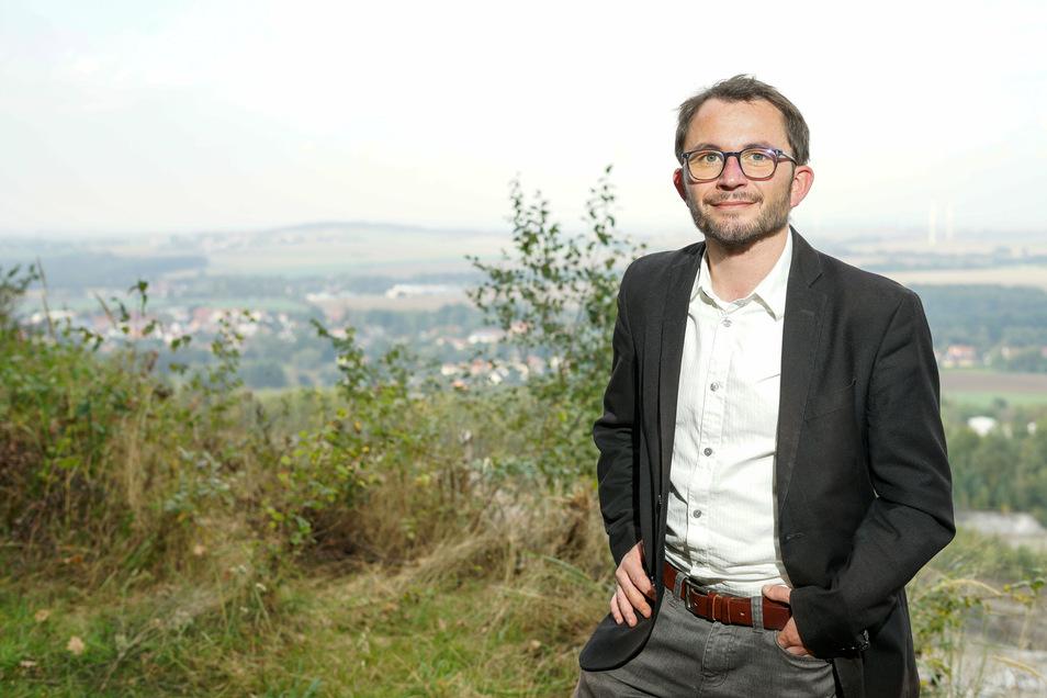 Jens Glowienka ist Diplom-Kaufmann (36) und sitzt für die CDU im Gemeinderat. Er arbeitet in einem Unternehmen in Pulsnitz.