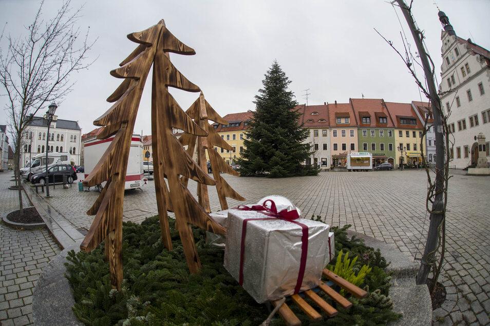 So sind die Schöpfstellen schon in der Weihnachtszeit ein Schmuck für Dippoldiswalde gewesen.
