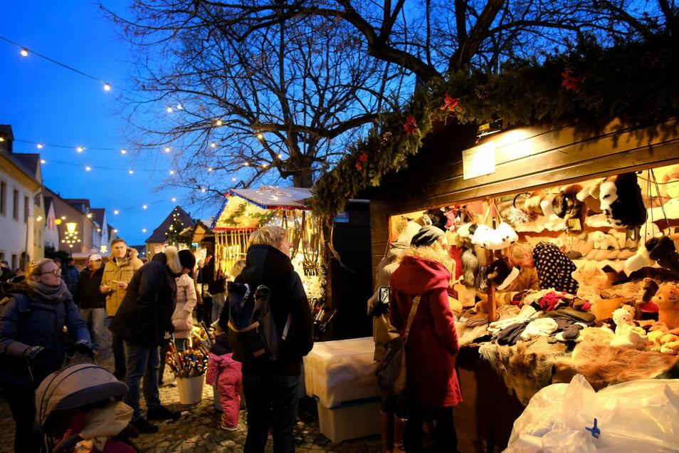 Dieses Jahr konnten Händler und Handwerker nicht ihre Waren auf dem Dorfanger in Altkötzschenbroda anbieten.