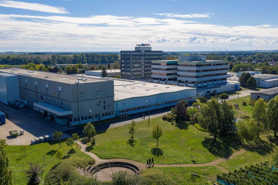 Der Standort von Neways Electronics in Riesa. Das Unternehmen hat ein schwieriges Jahr hinter sich. Nun geht es offenbar wieder aufwärts.