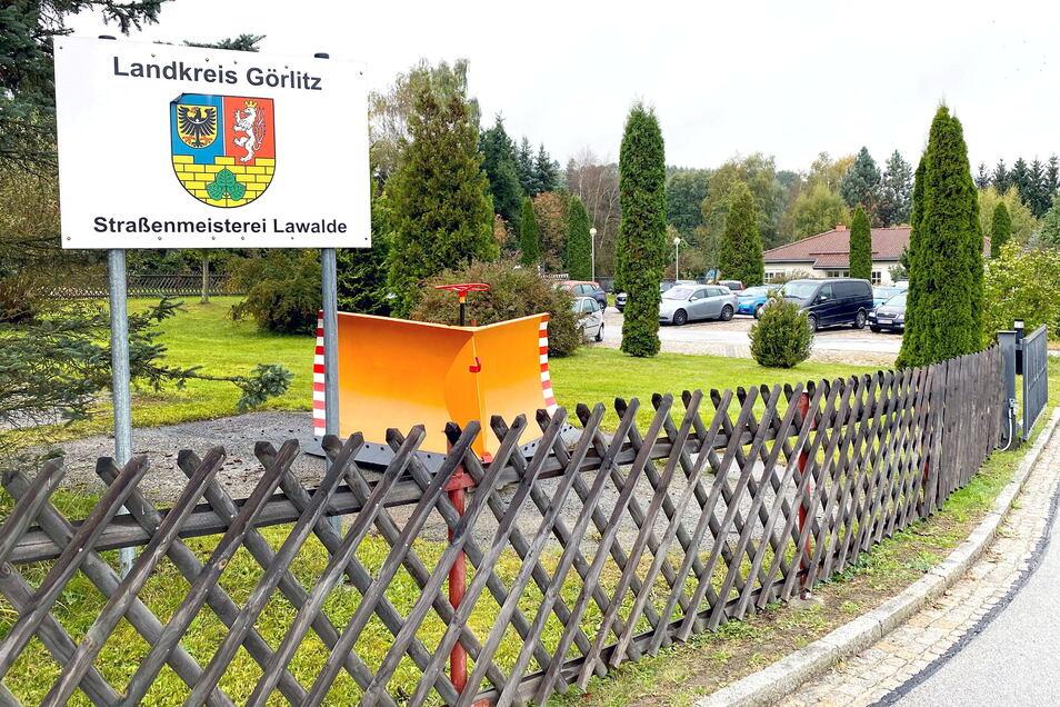 Die Straßenmeisterei in Lawalde könnte umziehen - in einen Neubau in Obercunnersdorf.