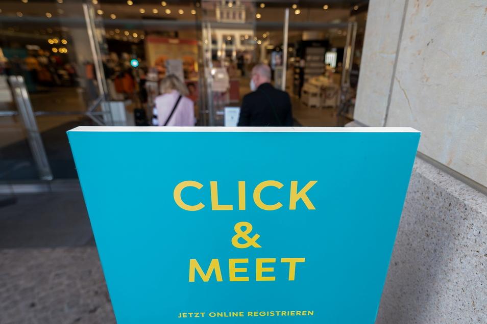 Seit Pfingstsonnabend können die Läden im Kreis Görlitz im Click & Meet-Modus öffnen.