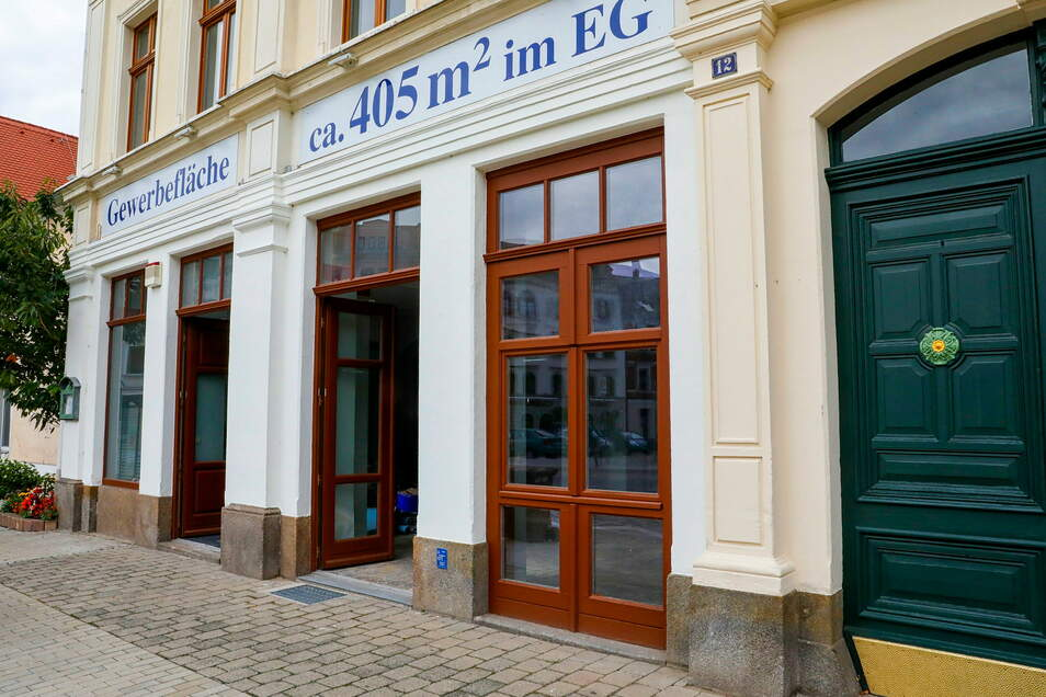 Hier am Neumarkt soll das neue Bürgerbüro der Enso im Sommer öffnen.