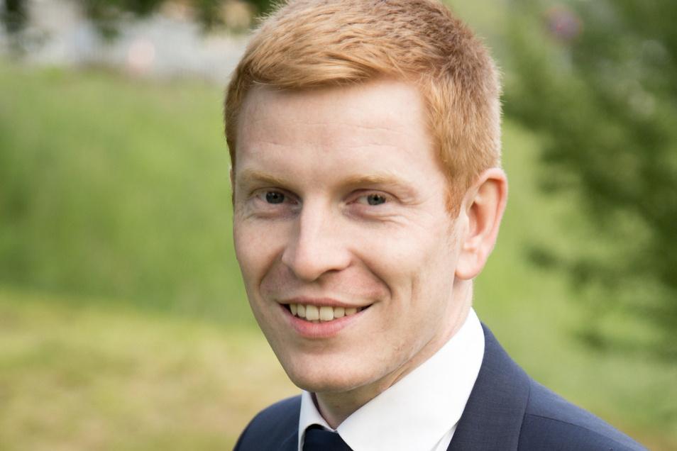 AfD-Kandidat  Manuel Uhlig