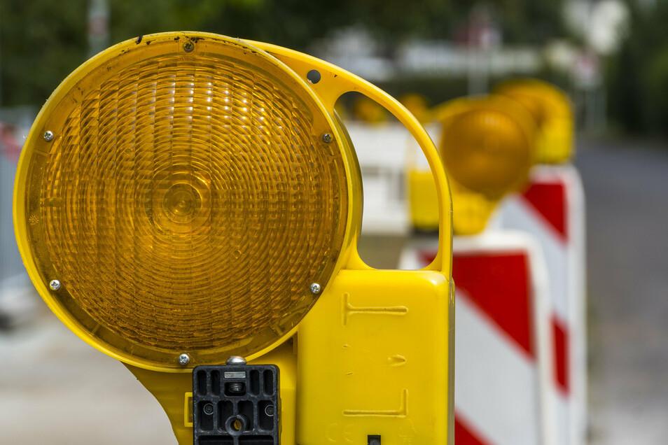 Auf der S170 bei Nentmannsdorf wird eine Woche gebaut. Die Folge: Umleitung fahren.