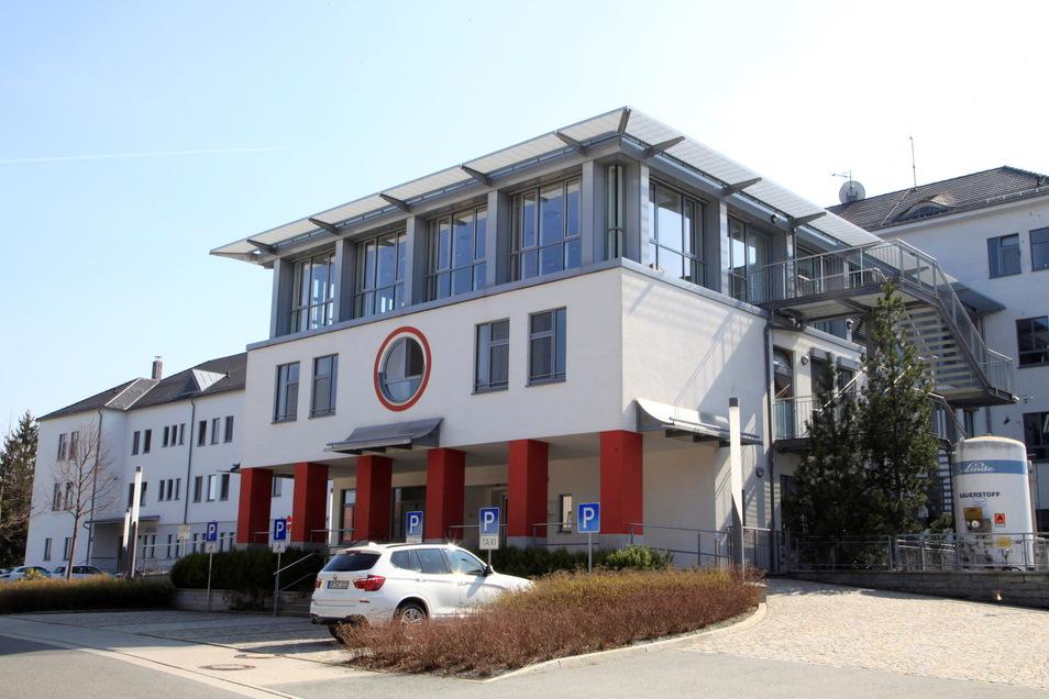 Das Klinikum in Ebersbach/Sachsen.