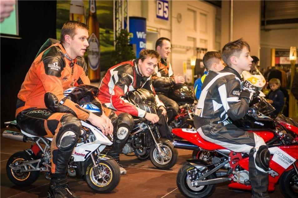 In der Messe Dresden stand vom Freitag bis zum Sonntag wieder alles im Zeichen von Bikes, Trikes, Quads und mobilem Freizeitspaß.