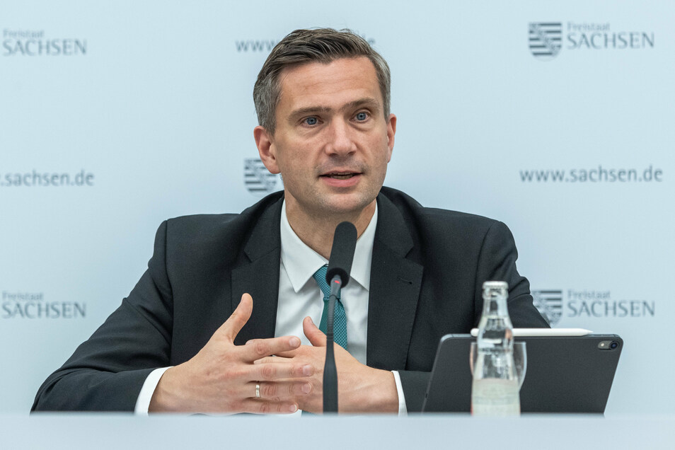 """Sachsens Wirtschaftsminister Martin Dulig (SPD) würdigte das Konjunkturpaket als """"starkes Signal der Solidarität und des Aufbruchs""""."""