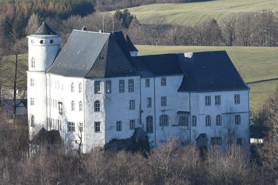 Das Bild hing über viele Jahrhunderte im Schloss Bärenstein.
