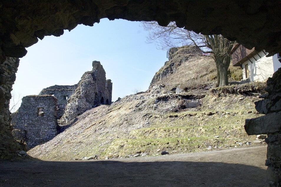 Die Burg Tollstein ist ein Ausflugsziel in der Gegend.