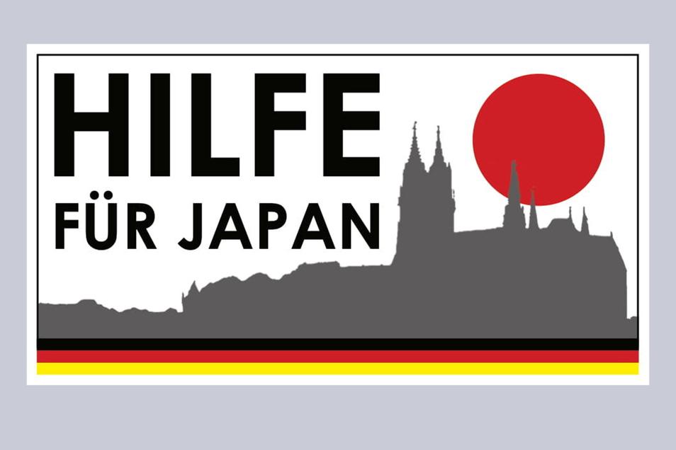 """Die Silhouette Meißens zierte vor zehn Jahren das Logo der deutschlandweiten Aktion """"Hilfe für Japan""""."""