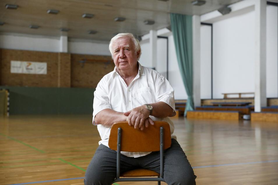 Ohne Jürgen Kloß gäbe es den Handball in Zittau wahrscheinlich nicht.