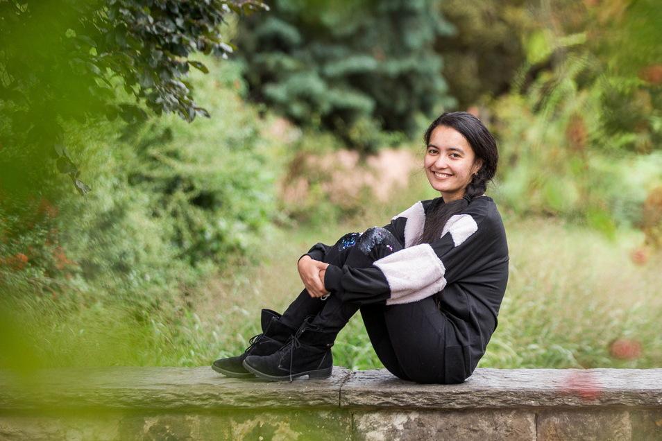Javohira Inoyatova ist jüngst für ihren Bundesfreiwilligendienst nach Dresden gezogen.