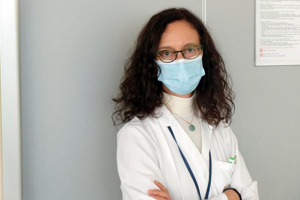 Ärztin Chiara Bignamini setzt sich in Corona-Zeiten für die Prävention posttraumatischer Belastungsstörungen beim Krankenhauspersonal ein. (zu dpa Corona in Bergamo: «Dieses Trauma wird mich ein Leben lang begleiten») Foto: +++ dpa-Bildfunk +++