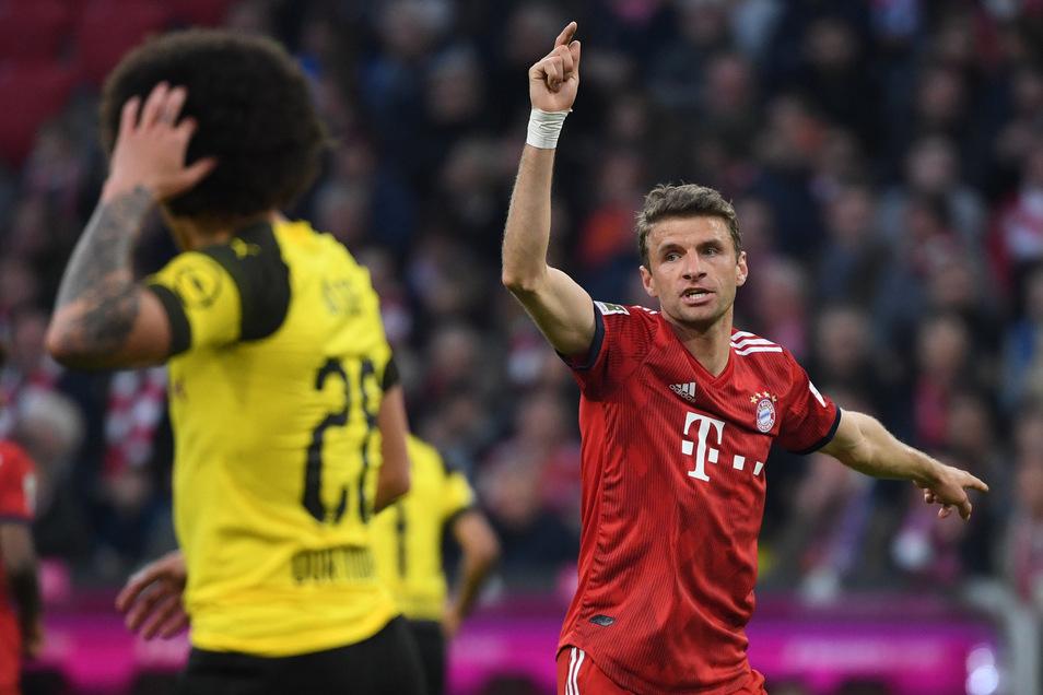 Thomas Müller hat gegen die Niederlande im November 2018 sein 100. Länderspiel bestritten. Dabei bleibt es. Er war lange unverzichtbar und beim FC Bayern zuletzt wieder gesetzt.
