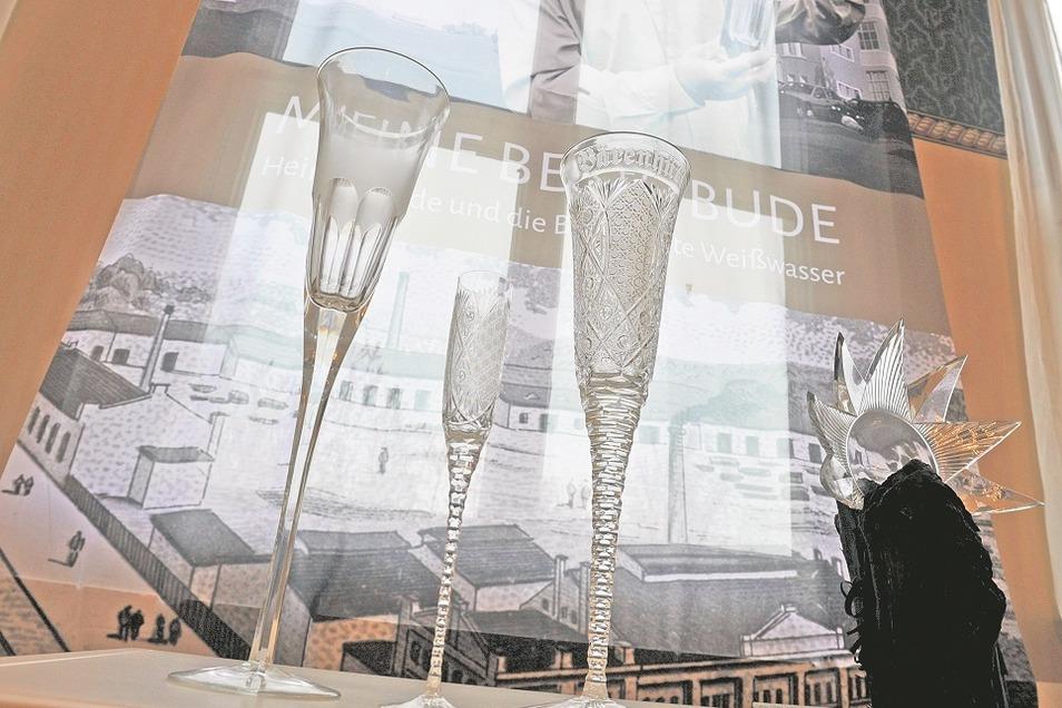 Die Sonderschau über die Bärenhütte (1887 – 1997) und die in aller Welt gefragten Bleikristallgläser des Musterschleifers Heinz Schade sollte bis März 2021 verlängert werden. Ob daraus etwas wird, ist angesichts des Lockdowns ungewiss.