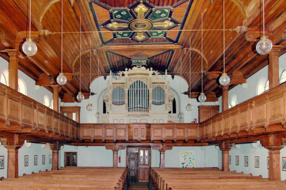 So sah die Kirche in Ostrau im Jahr 2010 aus.