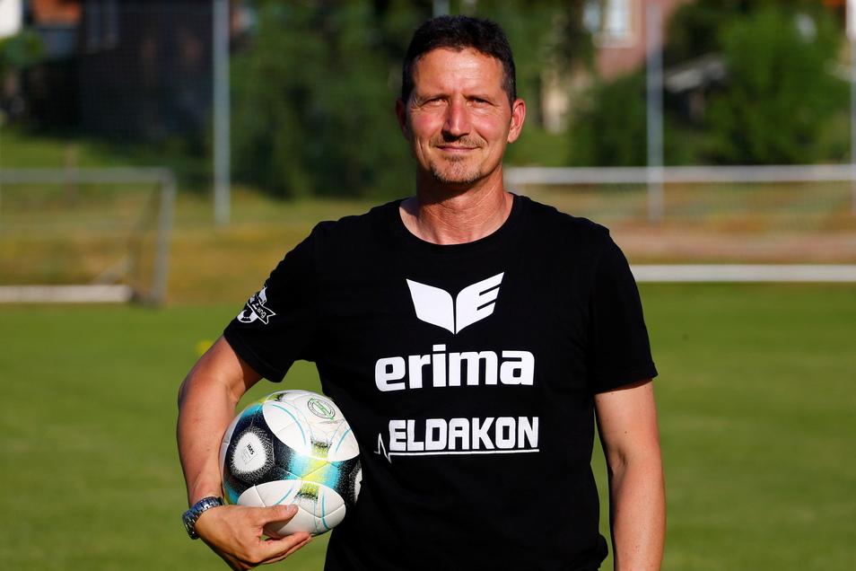 Dirk Rettig ist Co-Trainer der ersten Männermannschaft des SV Einheit Kamenz in der Sachsenliga.