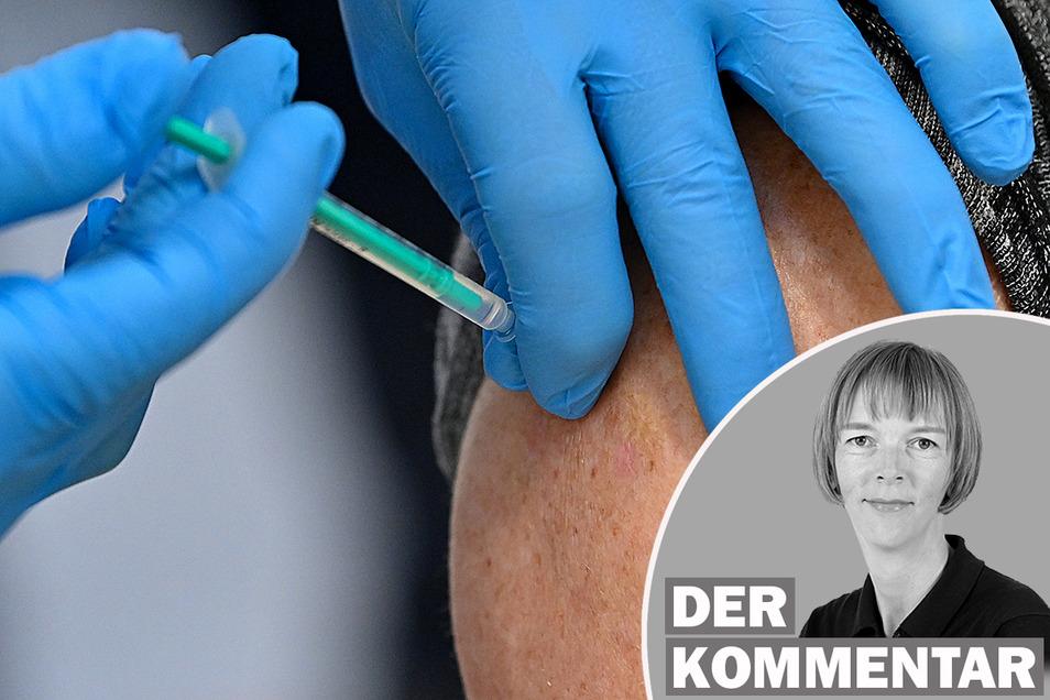 SZ-Redakteurin Karin Schlottmann über die Kritik an der Organisation der Impfterminvergabe in Sachsen.