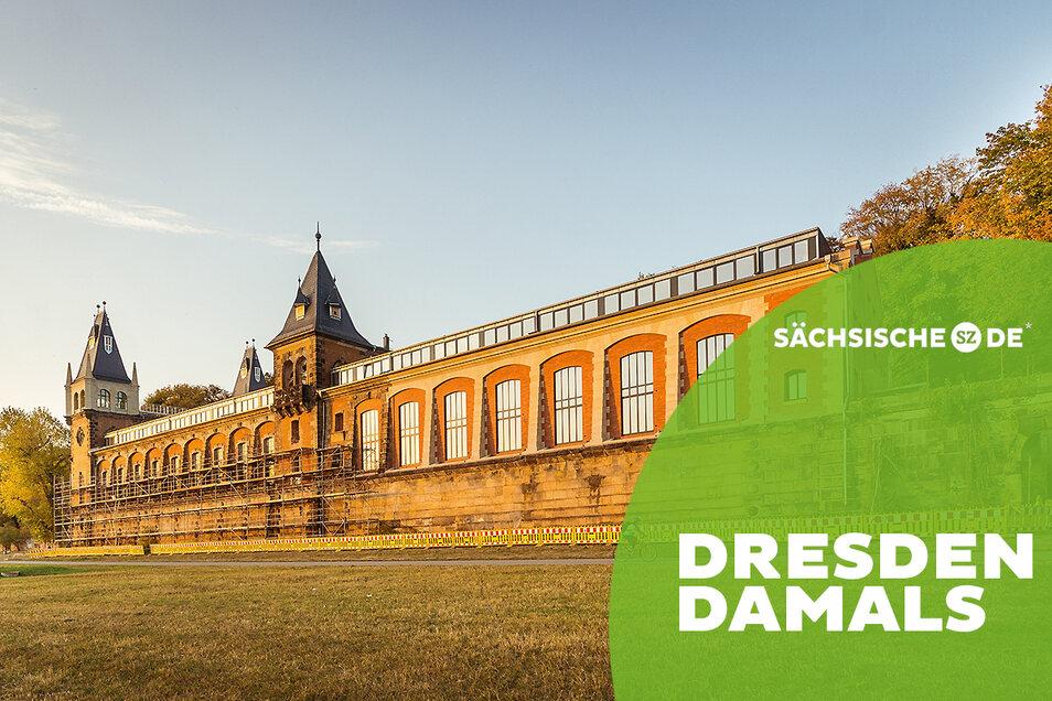 Sonne auf der Saloppe: 1871 wurde mit dem Bau des Dresdner Wasserwerkes begonnen. Ein Teil einer langen Geschichte.