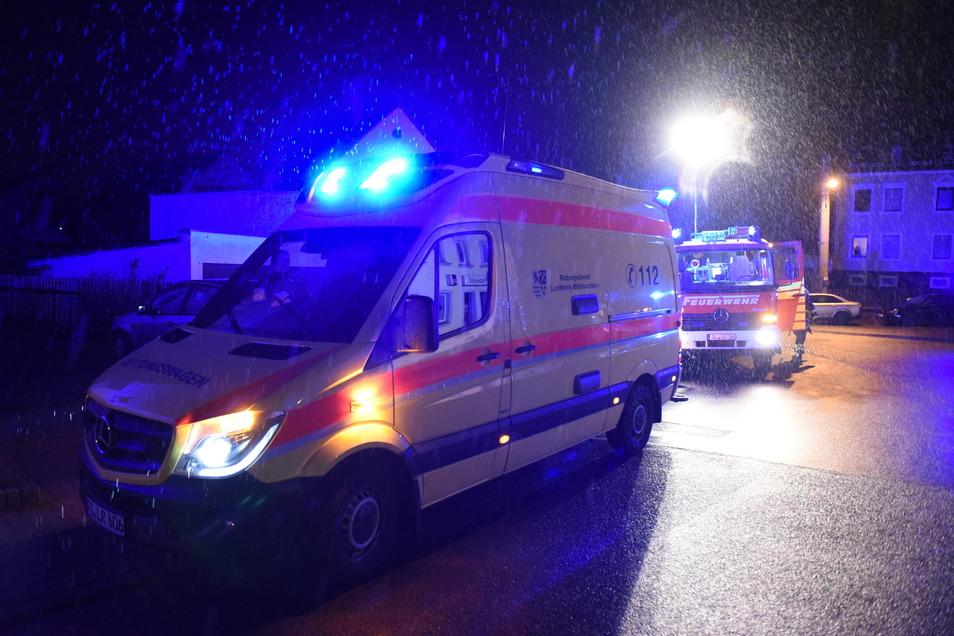 Verletzt wurde niemand. Der Rettungsdienst konnte ohne Patient abrücken.