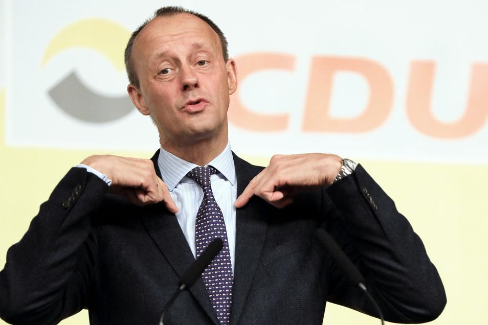 Ihn will die Junge Union als Parteichef: Friedrich Merz.