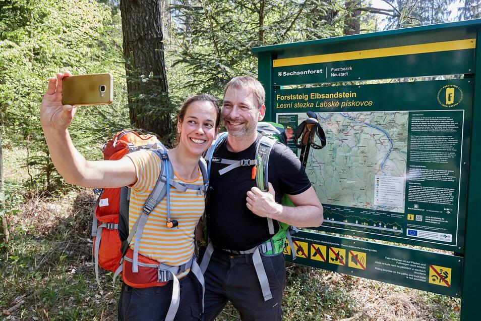 Es kann bald losgehen: Noch vor Ostern beginnt die Saison am Forststeig Elbsandstein. Vorerst sind jedoch nur Tagestouren erlaubt.