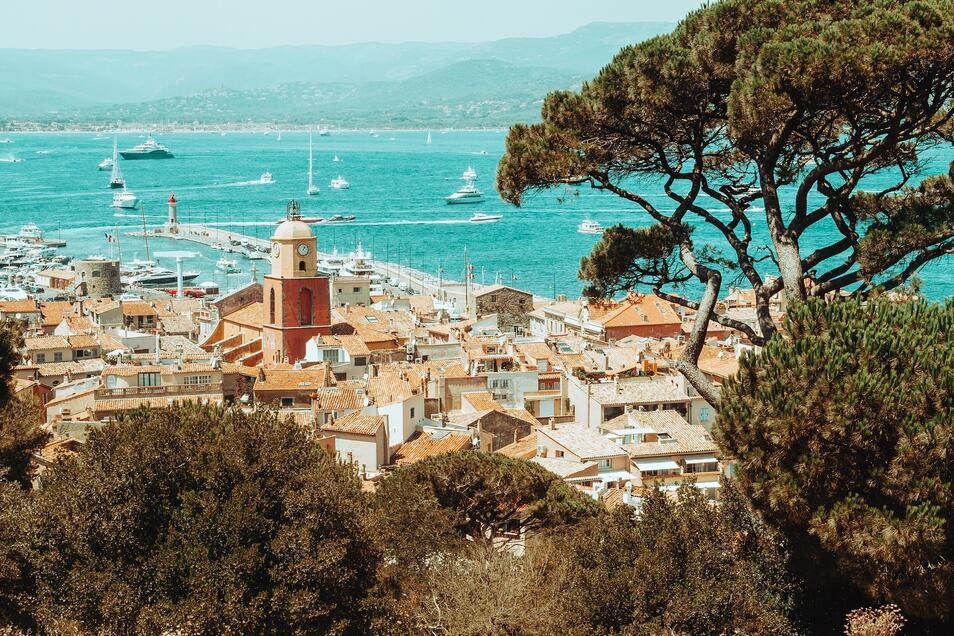 Der beliebte Ferienort Saint Tropez.