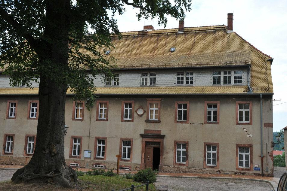 Die ehemalige Kirchkanzlei in Leisnig...