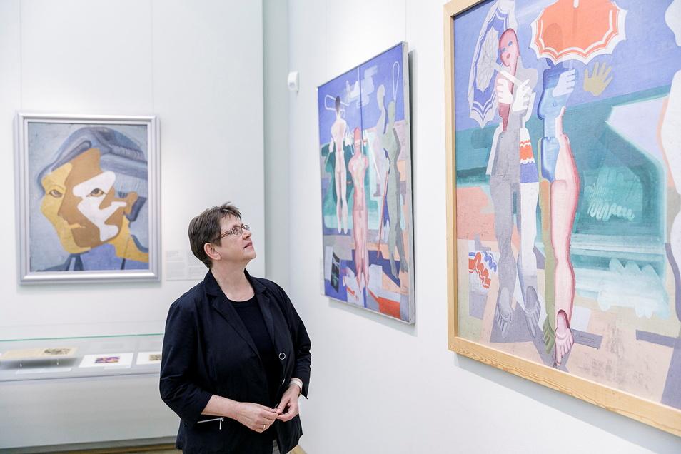 """Zuletzt waren Werke der Breslauer Akademie 2018 in der Sonderausstellung """"Avantgarde in Breslau"""" zu sehen. Die Kunsthistorikerin Johanna Brade, seit 1999 am Schlesischen Museum, ist dafür Spezialistin."""