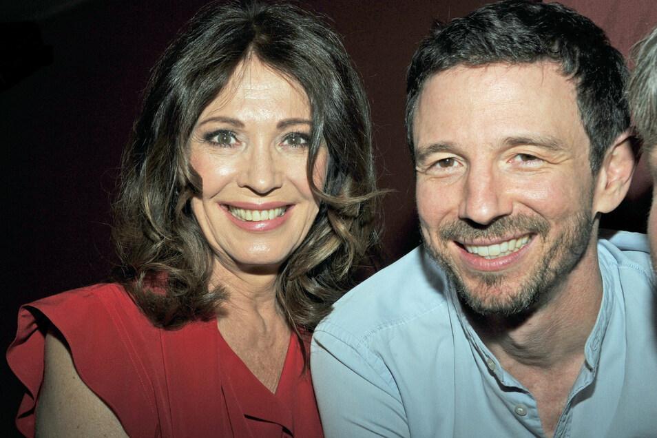 Iris Berben und ihr Sohn, Filmproduzent Oliver Berben.