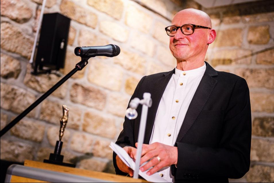 Jörg Bernig wird Radebeuls neuer Kulturchef.