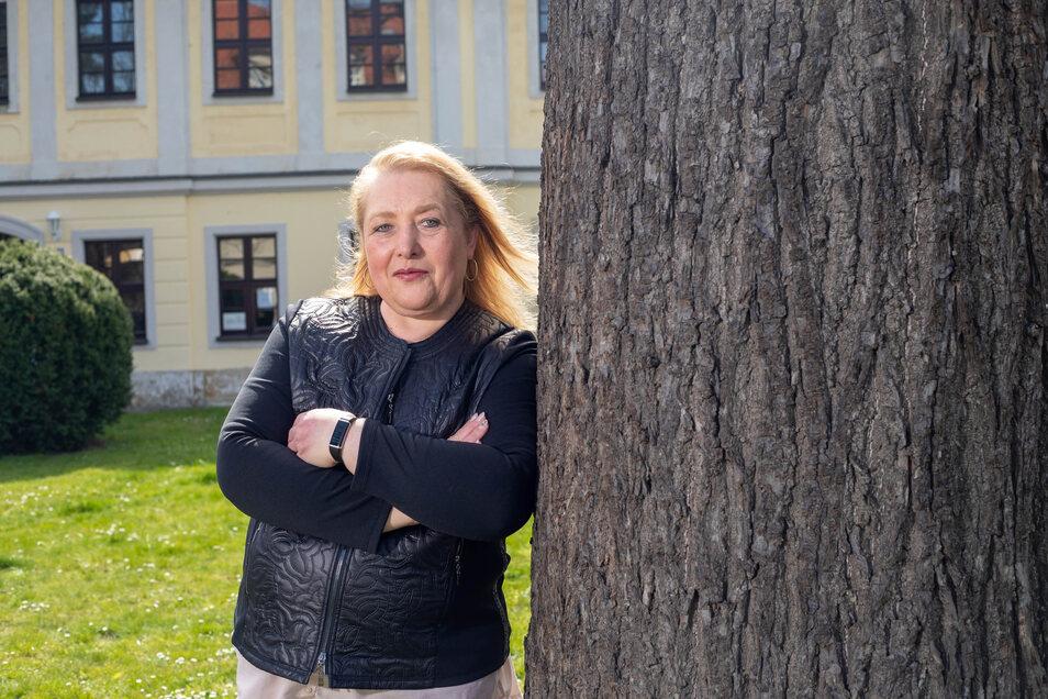 Martina Dittrich ist Seniorenbegleiterin in Pirna.