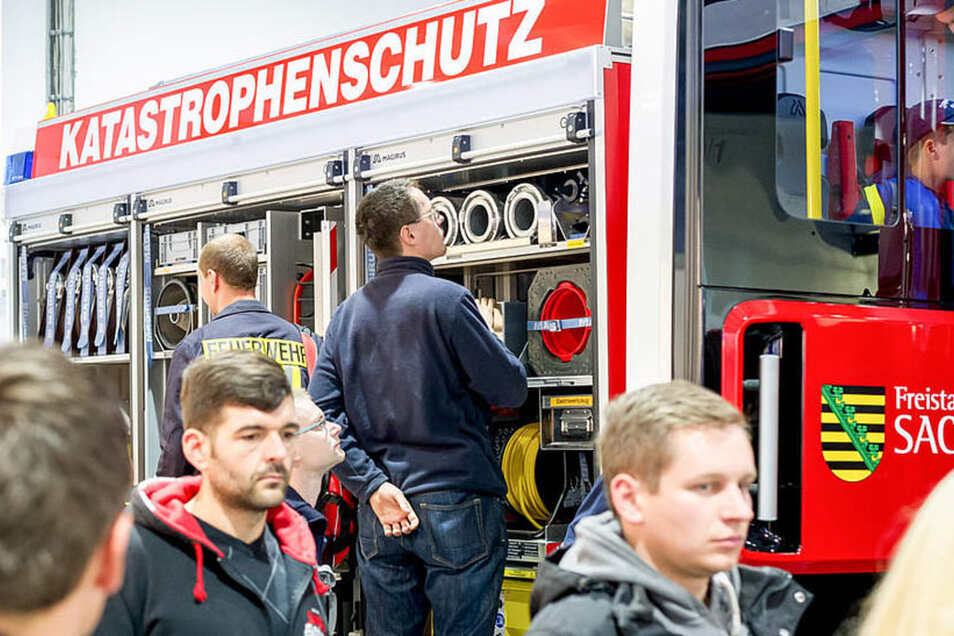 Jedes Jahr zeigt der Freistaat neue Feuerwehrtechnik auf der FLORIAN.