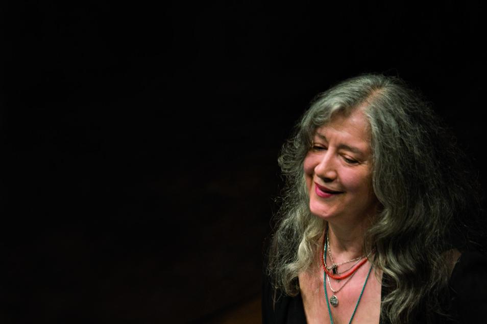 Martha Argerich setzt auf die Sprache der Musik.