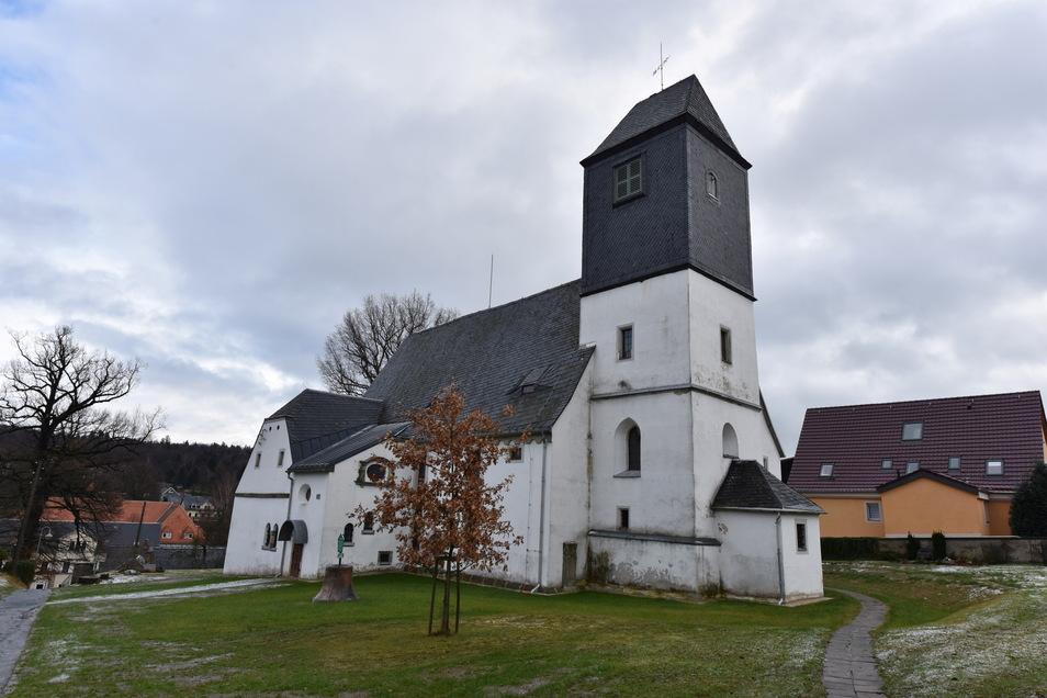 Die Höckendorfer Kirche liegt zentral in der neuen Kirchgemeinde Klingenberg-Kreischa.