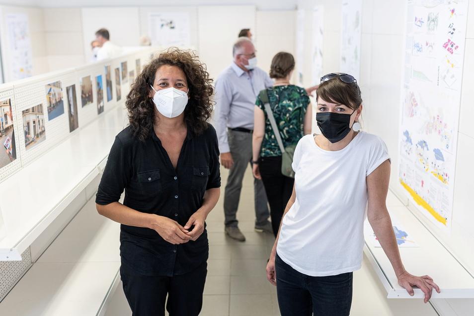 Melanie Huhmann, TU-Professorin für Urbanismus und Entwerfen, und Claudia Muntschick vom Team Kreatives Sachsen werden den Prozess weiter begleiten.
