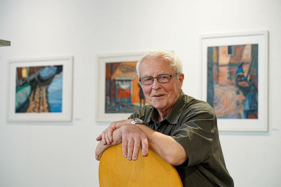 Anlässlich des 80. Geburtstags von Lutz Jungrichter zeigt die Galerie Budissin in Bautzen Malerei und Plastik von ihm aus den vergangenen Schaffensjahren.