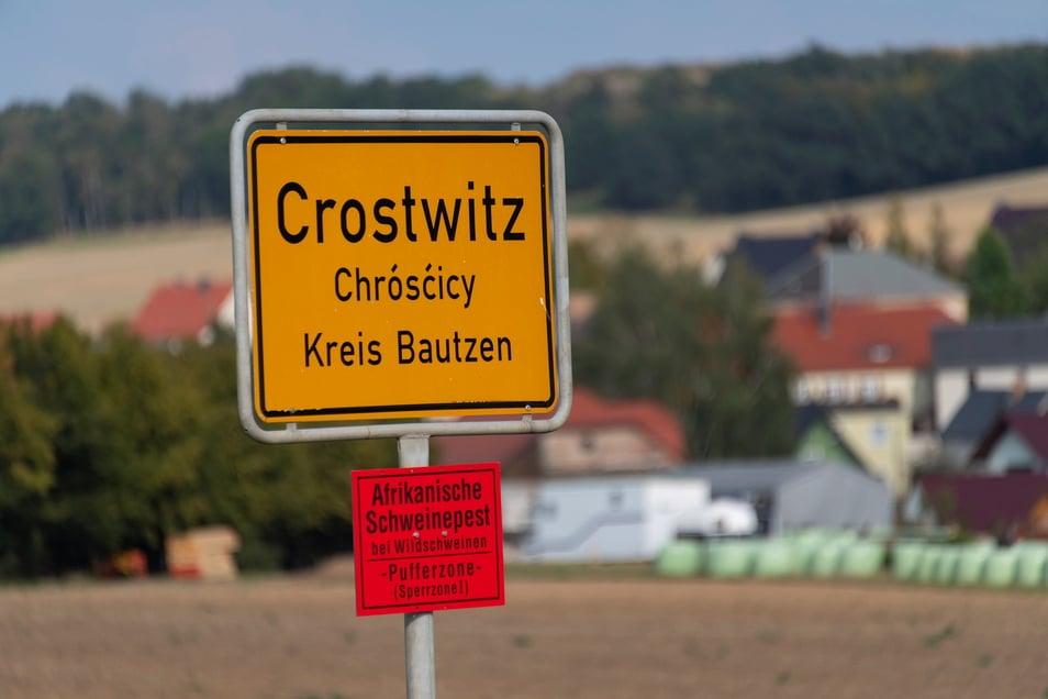 Auch in Crostwitz hat die CDU seit 2013 satte 25 Punkte eingebüßt. Die Partei ist in der Gemeinde, in der gut 1.000 Menschen leben, trotzdem noch mit Abstand stärkste Kraft.