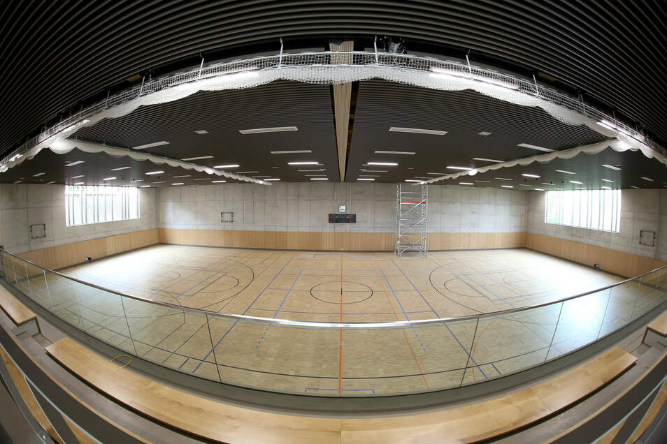 So eine Halle wie hier in Görlitz wäre doch auch etwas für Freital, sagen viele Sportler.