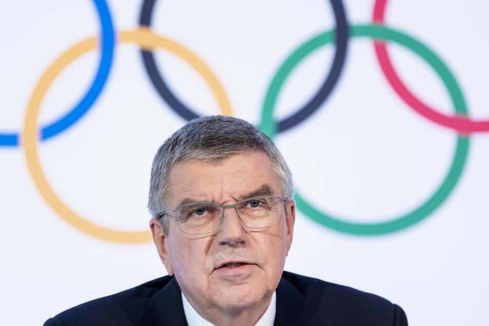 Thomas Bach lehnt einen Ausschluss einzelner Nationen von den Spielen 2021 in Tokio aufgrund der Corona-Lage in den jeweiligen Ländern ab.