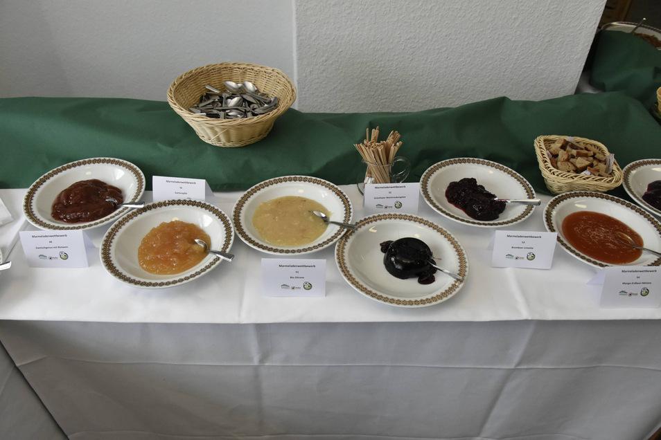 Im letzten Jahr wurden jede Menge Marmeladen eingereicht.