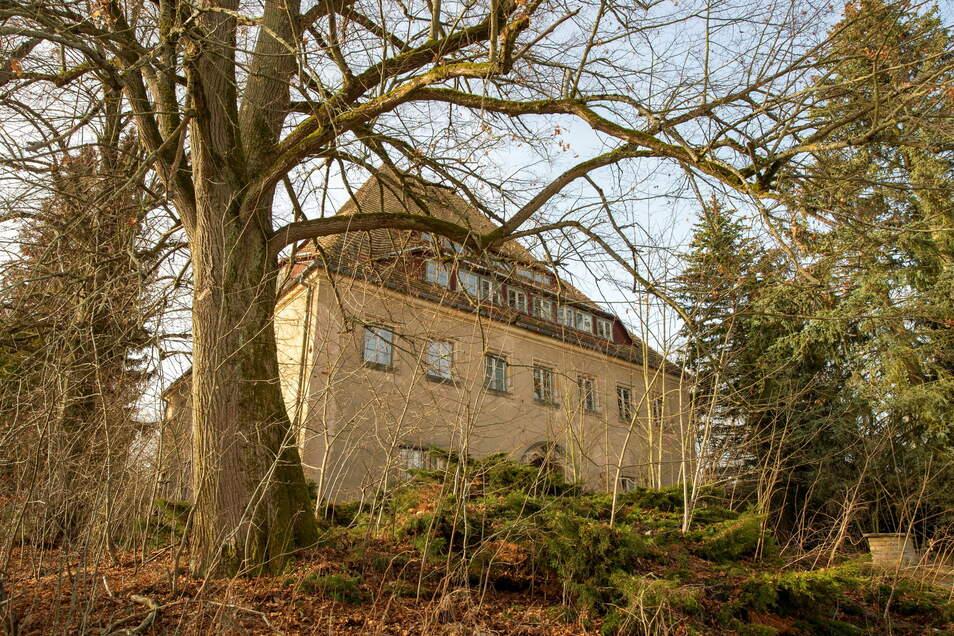 """Das auch als """"Mutschmann-Villa"""" bezeichnete Neue Jägerhaus wird ins Konzept einbezogen und soll ebenfalls als Tagungsort und Gästehaus genutzt werden."""