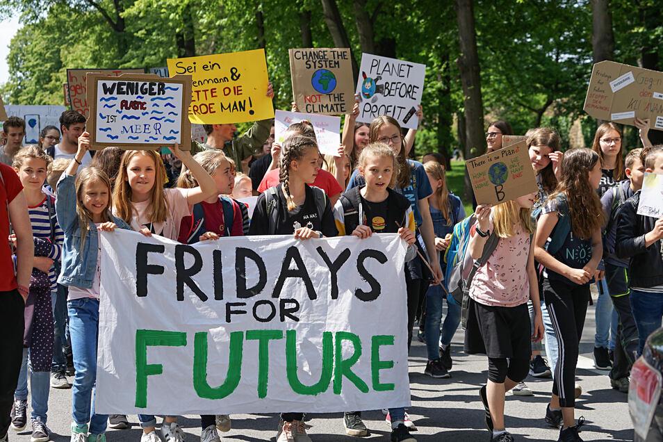 Im Mai fand in Bautzen die erste Schülerdemo für den Klimaschutz statt.