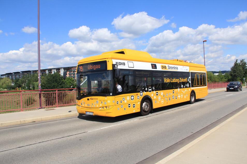 In Dresden sind bereits solche Elektrobusse im Einsatz. Die gibt es auch in kleineren Ausführungen.