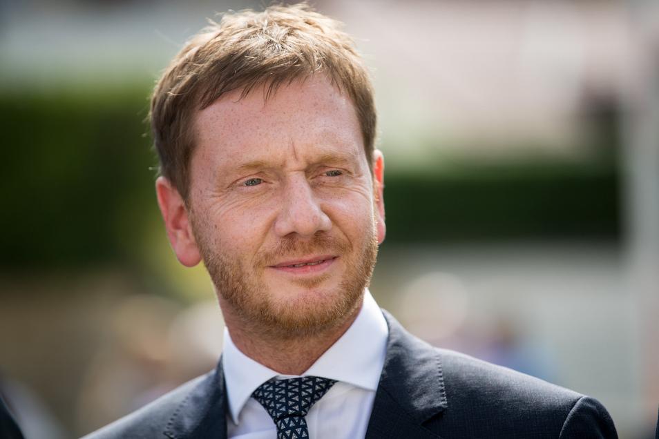 Ministerpräsident Michael Kretzschmer.