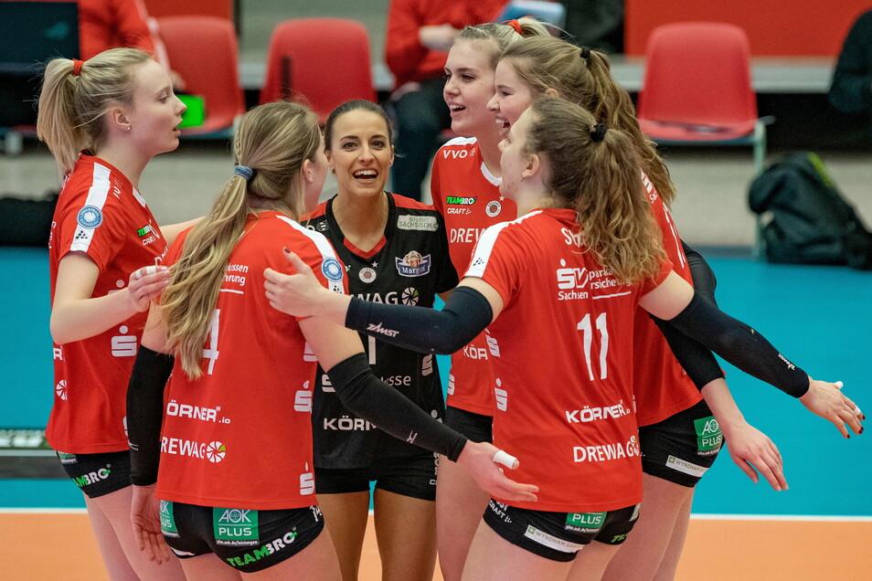 Die DSC-Frauen feierten in Münster einen ungefährdeten 3:0-Sieg.